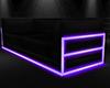 Neon sofa purple