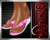 {RC}Rose kini flip flop