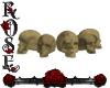 {Rose} Skull's  Seats
