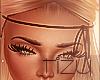 Ⓣ Leath. Headband Blck
