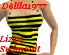 Lizzy Swimsuit-Yllw/Blk