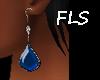 FLS Teardrop Sapphire