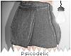 e Skirtpants - blk