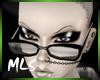  MLS Thick Black Glasses