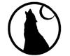 Black Wolf Shape