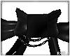 Black Doll Bow