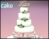 +Wedding Floral Cake+