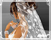 !Wedding veil rose lace