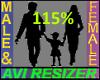 115% Tall