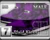 [BE]Purple Plaid|Kicks M