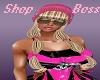 Boss Pink Channel Cap