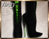 Witch Boots Cerri Green