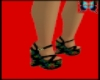 red roses shoes