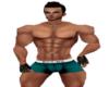 Ruckz Hot Teal Boxers