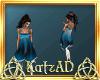 AD! Lumanesa Blue Dress