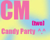 Candy Party Poster Both