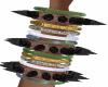 Spiked Bracelet Set L