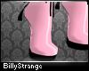 [B]M PVC Heels Pale Pink