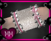 Blush Wedding Cuffs