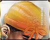 v. durag; orange