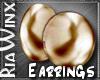 Regent BoldGold Earrg
