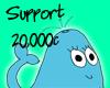 |P| Support - 20,000c