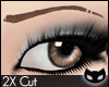 [SIN]Cut Eyebrow ltBrown
