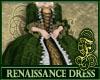 Renaissance Dress Green