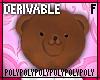 Teddy Bear Head .f.