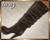 Brown Calf Boots Leigh