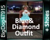 [BD]Blue&DiamondOutfit