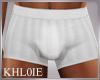 K jim white boxers short