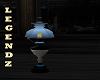 Antique Blue Lamp