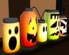 ❥ Jar Lamps