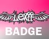 x3Lexiix3 Badge