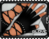 [c] RED Rivet Gloves 