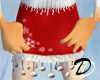 Snowflake skirt (red)