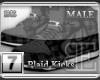 [BE] Grey Plaid|Kicks M