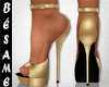 ~B~TRENDY HEELS GOLD
