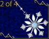 VA Snowflake Earrings