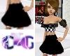 *CTG* Nascar Black Skirt