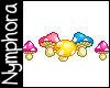{N} Animated Mushrooms