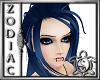 Wedgewood blue eyebrows