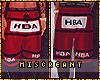 M|HBA 'Red Light' Shorts