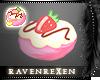 Strawberry Van Bun Badge