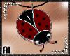 Thick Necklace *Ladybug*