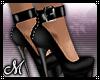 !W! Black Heels