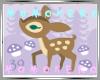 mo matching Pair Couple Deer Girl Cold & Wait