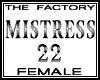 TF Mistress Avtar22 Tall