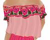 TF* Pink Fiesta Top